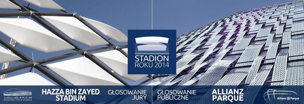 Konkurs Stadion Roku 2014 - głosowanie