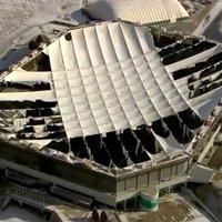 USA: Zima zrujnowała dach wielkiej areny, a operator się… cieszy