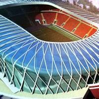 Białoruś: Wyciekły projekty stadionu narodowego! (foto)