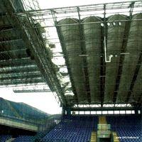 Kraków: Dach uszkodzony na dwóch trybunach
