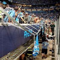 Porto Alegre: Groźny wypadek na Grêmio Arena