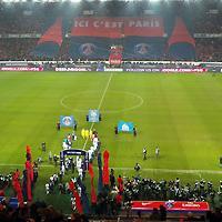 Francja: Marsylia kpi z atmosfery Parc des Princes
