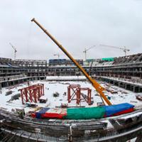Sankt Petersburg: Robotnik zginął na budowie feralnej areny