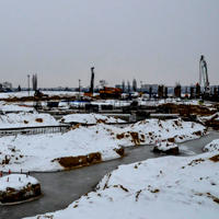 Lublin: Wiatr opóźnił montaż żurawi