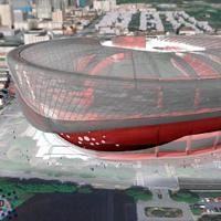 Atlanta: Pięciu gigantów powalczy o superstadion