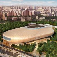 Moskwa: VTB Arena o rok później