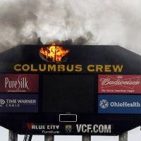 Columbus: Niecodzienny pożar… tablicy wyników