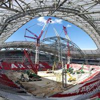 Kazań: Scena już jest, ale stadion nie gotowy