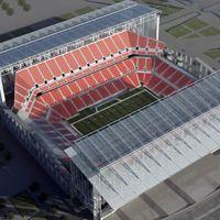 Nowe projekty: New Falcons Stadium według 360 Architecture