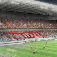 Łódź: Stadion na Widzewie, dla ŁKS jedna trybuna