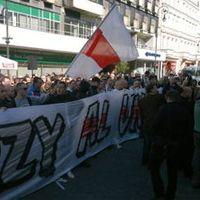 Łódź: Kibice ŁKS protestowali, prezydent im podziękowała