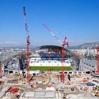 Marsylia: Ruszyła budowa głównej trybuny