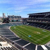 USA: Telebimy o szerokości boiska w Filadelfii