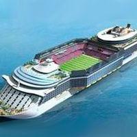 Innowacja: Koreańska stocznia chce zbudować statek ze stadionem