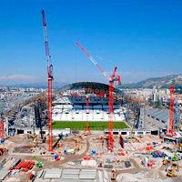 Marsylia: Główna trybuna wychodzi z ziemi