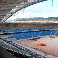 Hajfa: Ostatnie szlify na stadionie, budowa pomnika