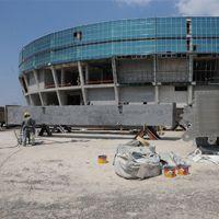 Turcja: Wielka konstrukcja dachu rusza w Bursie