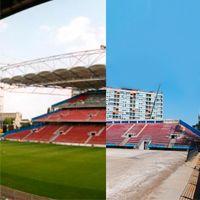 Belgia: Stadion w Charleroi drastycznie zmniejszony