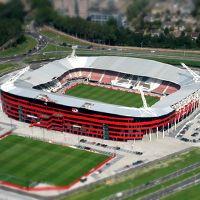 Holandia: Pożar przerwał mecz Ligi Europy w Alkmaar