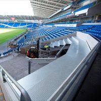 Cardiff: Rozbudowa nie ruszyła, a stadion już rośnie