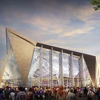 Minneapolis: Jest harmonogram budowy stadionu Vikings