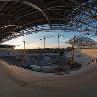 Budapeszt: Rekordowe tempo budowy stadionu FTC