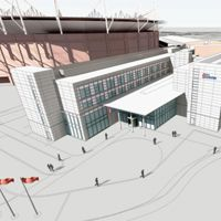 Sunderland: Koncepcja Hiltona przy Stadium of Light pokazana