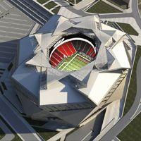 Atlanta: Nowy budżet i wizualizacje Falcons Stadium