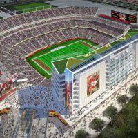 San Francisco: Gigant do futbolu amerykańskiego otwarty meczem piłki nożnej