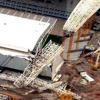 Sao Paulo: Runął dźwig z fragmentem dachu na Arena Corinthians