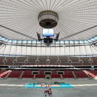 Narodowy: Przedstawiciele FIVB wizytowali stadion