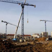 Tychy: Cztery żurawie postawią stadion