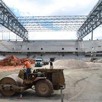 Kurytyba: Opóźniony stadion na finiszu