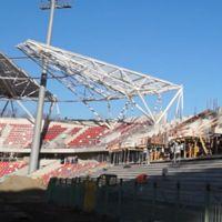 Bielsko-Biała: Budowa blisko półmetka, wkrótce przenoszenie murawy