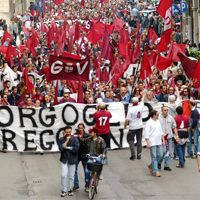 Włochy: Kibice Reggiany protestują przeciwko stadionowemu kuriozum