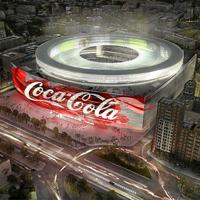 Madryt: Coca Cola zapłaci za prawa do Bernabéu 300 milionów rocznie?!