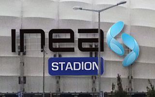 Poznań: Wielki neon INEA Stadion wkrótce zawiśnie przy Bułgarskiej