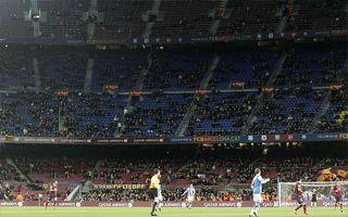 Barcelona: Camp Nou pustoszeje, fatalne wyniki w Pucharze Króla