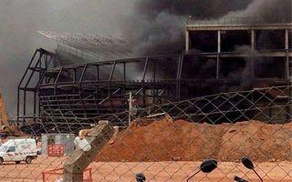 Brazylia: Pożar naruszył konstrukcję Areny Pantanal?