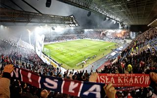 Kraków: Rekordowe derby, ale nie rekord stadionu