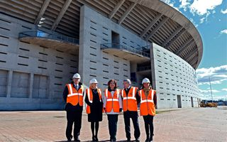 Madryt: Hołd dla Aragonesa przy nowym stadionie