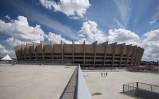 Belo Horizonte: Dach Mineirão poddany ekstremalnemu testowi