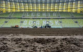 Gdańsk: Od jutra czwarta wymiana murawy PGE Areny