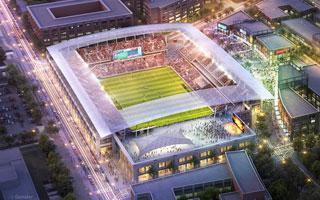 Waszyngton: Niezwykłe poparcie dla nowego stadionu United