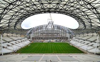 Marsylia: Dach Vélodrome gotowy!