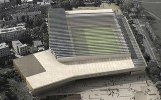 Kraków: Stadion Cracovii z rozsuwanym dachem?
