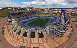 Nowe stadiony: Tanger, Meknes, Safi, Al Husajma