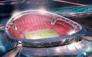 Katar 2022: Niespodziewane spowolnienie dla głównego stadionu