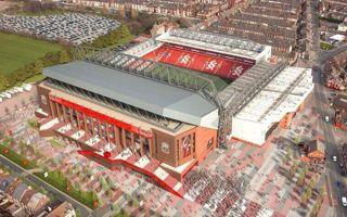 Liverpool: Pierwsze wizualizacje trybuny głównej Anfield