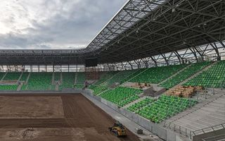 Budapeszt: Stadion Ferencvárosu za miesiąc będzie gotowy
